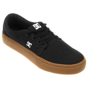 Tênis DC Shoes Trase TX BLACK GUN