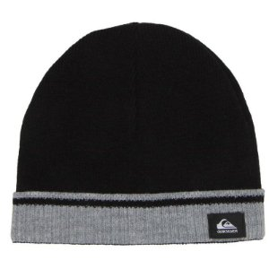 Gorro Quiksilver Out Of Bounds Dupla Face Preto Cinza - JD Skate Shop 87bbb909005