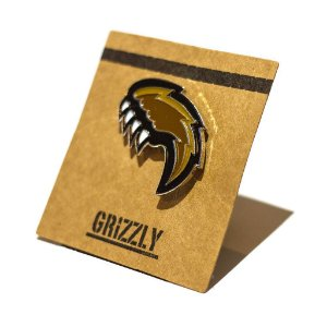 PIN GRIZZLY PAW