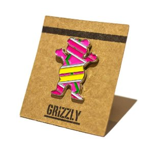 PIN GRIZZLY HOVER BEAR