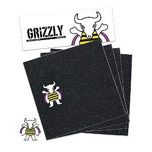 Lixa Grizzly Griptape Brandon Biebel  - 4 partes