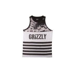 Camiseta Regata Grizzly Great Divided Tank Top Black