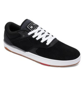 TÊNIS DC SHOEs TIAGO S IMP BLACK WHITE 54d28be2a91