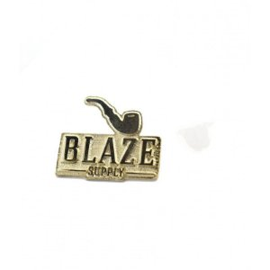 PIN LOGO GOLD BLAZE SUPPLY