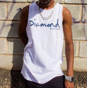 Camiseta regata Diamond Supply Co OG Script Grey Tank