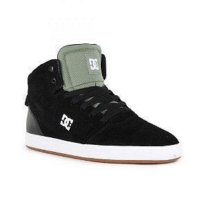 Tênis DC Shoes Crisis High – Black Olive ( LANÇAMENTO )