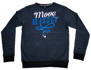 MOLETOM BLAZE SUPPLY CREWNECK MOVE WISELY