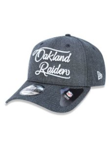 BONE NEW ERA ABA CURVA 940 OAKLAND RAIDERS NFL
