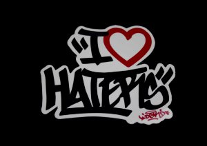 Adesivo DGK Haters