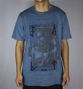 Camiseta Wg silk - Azul