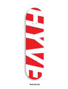 "SHAPE HYVE MAPLE BOX LOGO 8.0"" + LIXA IMPORTADA EMBORRACHADA"