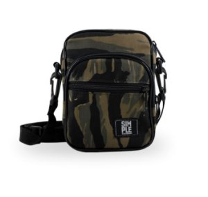 SHOULDER SIMPLE BAG CAMO WOOD