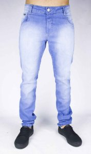 CALÇA JEANS CODE SKT EVERYTHING - AZUL