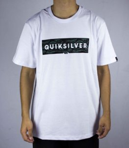 ddbf9fe8f26b9 Camiseta Quiksilver INNER WAVE CAMU - BRANCA