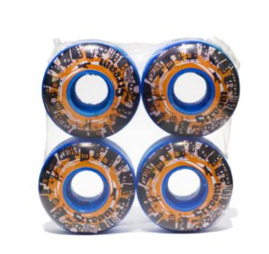 RODA STREAM SKATEBOARD ORANGE BLUE