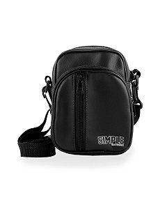 SHOUDER SIMPLE BAG BLACK D3