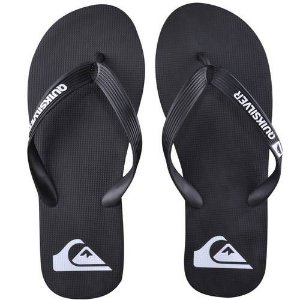 CHINELO QUIKSILVER SANDALS MOLOKAI ID - BLACK/WHITE