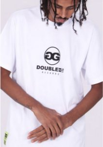 CAMISETA DOUBLE G flowering green - WHITE
