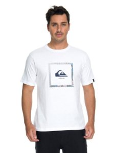 CAMISETA QUIKSILVER BEAT THE HEAT - BRANCA