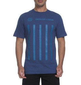 CAMISETA DC SHOES GUVNOR - AZUL
