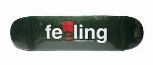 """Shape Feeling fiberglass 8.0"""" verde escuro + LIXA"""