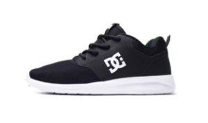 Tênis Dc Shoes Midway - BLACK/WHITE