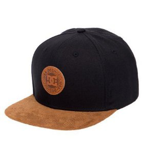 BONÉ SNAPBACK DC SHOES SNAPPY TOP - PRETO 12db0227791
