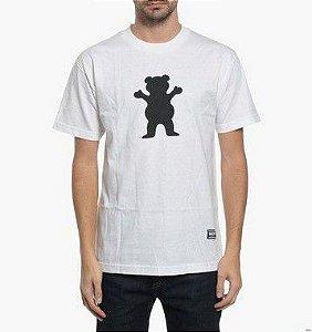 Camiseta Grizzly OG Bear Logo Tee - WHITE