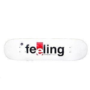 """Shape Feeling fiberglass WHITE 8.1"""" + LIXA GRÁTIS"""