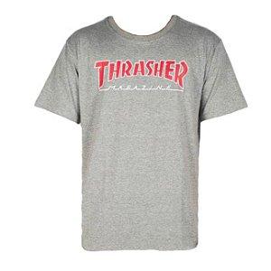 CAMISETA THRASHER SKATEBOARD MAGAZINE - PRETA BRANCO - JD Skate Shop a92e2269289