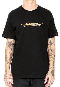 Camiseta Element Minds Eye Cinza Preto - JD Skate Shop b418e6659b6