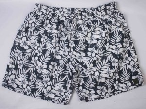 SHORT TRICKO HIBISCO - FLORAL