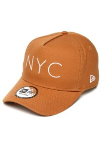 BONÉ NEW ERA SNAPBACK NYC BEGE