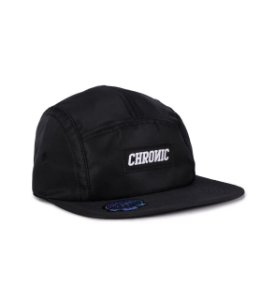 BONÉ 5 PANEL CHRONIC LOGO - PRETO