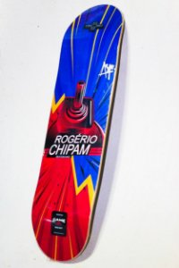 "SHAPE ASPECTO DECKS 8.125"" Heat Transfer - Pro-Model Rogério Chipam  + LIXA GRÁTIS"