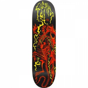 "SHAPE YEAH SKATEBOARD BONE DRAGON 8.125"" ORANGE + LIXA GRÁTIS"