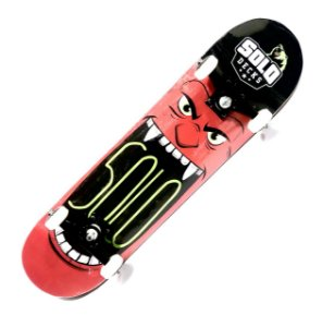 SKATE PROFISSIONAL SOLO MONSTER RED