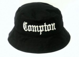 Bucket Hat Catu Street wear Compton - Preto