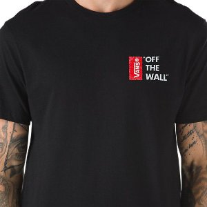 CAMISETA VANS OFF THE WALL - PRETA