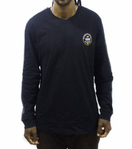 Camiseta VANS Long Sleeve Striker - Preta