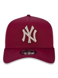 BONÉ NEW ERA 940 NEW YORK YANKEES MLB ABA CURVA