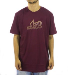 CAMISETA LOST DOTS - BORDO