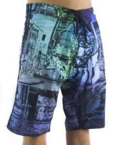 BERMUDA BOARDSHORTS CHRONIC GRAFITE