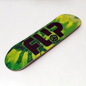 """Shape Flip Team Odyssey Peace Verde 8.25"""" + Lixa Importada emborrachada"""