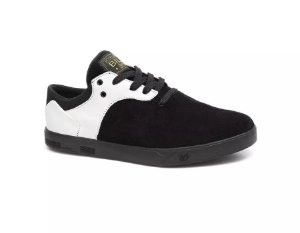 TÊNIS LANDFEET PRO-MODEL JEFFERSON BILL - PRETO/BRANCO