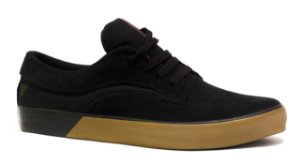TÊNIS LEJON FOOTWEAR DECK - PRETO/NATURAL