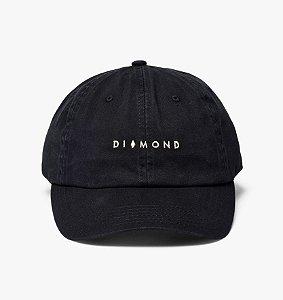 BONÉ DAD HAT DIAMOND MARQUISE SPORTS - BLACK