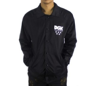 JAQUETA CORTA-VENTO WINDBREAK DGK ALL STAR BLACK