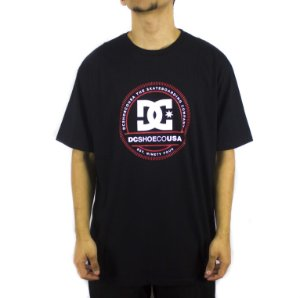 CAMISETA DC SHOES BAS PHENOMOM BLACK