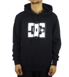 MOLETOM CANGURU FECHADO DC SHOES STAR BLACK